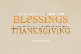 fitness thanksgiving declarations of thanks for the works of