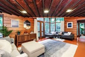 frank lloyd wright living room live out frank lloyd wright s usonian vision in this home that s