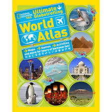 World Atlas Maps by Ultimate Globetrotting World Atlas National Geographic Store