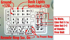 audi concert 2 aux input auxiliary input to the oem non bose upgraded unit