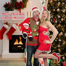 we love a good cheesy christmas card huffpost