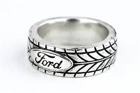 car rings images Custom tire tread ring car enthuisiast ford sports car silver by jpg