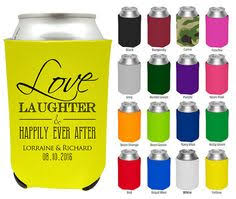 wedding personalized koozies wedding coozies clipart 1811 wedding without a buzz