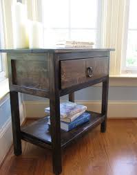 Farmhouse Side Table White Farmhouse Side Table Diy Projects