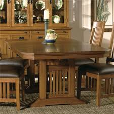 hekman arts crafts trestle table in mission pointe 8 4020 by hekman arts crafts trestle table in mission pointe 8 4020