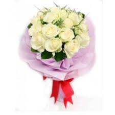 White Rose Bouquet White Roses Bouquet Flower Delivery In Malabon City