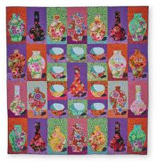 kaffe fassett 20th anniversary quilt kit portsmouth fabric co
