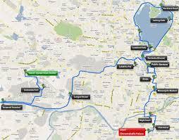 Hyderabad Map Hyderabad Heritage Marathon 2017 2018 Date Registration Course Route