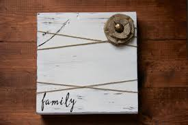 wood frame rustic picture frame family rustic home decor