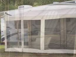 Rv Awning Shade Screen Guide Gear Add A Screen Room Youtube