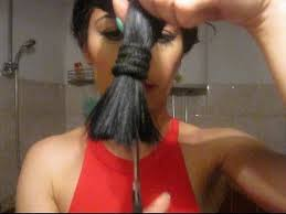 different ways to cut the ends of your hair easy way to cut your own hair at home youtube
