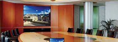 How To Hang A Projector Screen From A Drop Ceiling by Projection Screens Draper Inc