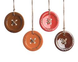 button christmas tree decoration mustard orange red brown u2013 the