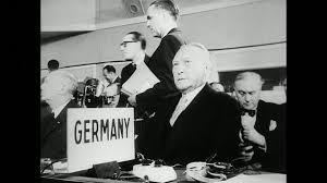 otan siege réunion otan 6 mai 1955 hd stock 742 927 287