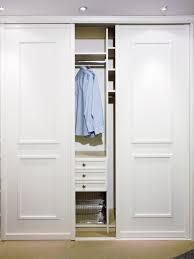 Interior Door And Closet 3 Panel Sliding Closet Doors Interior Bifold For Bedrooms
