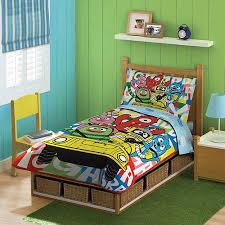 Yo Gabba Gabba Bed Set Discontinued Yo Gabba Gabba 4 Toddler Bedding Set