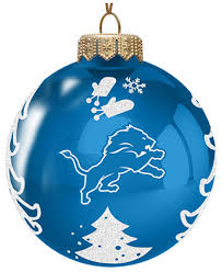 Glass Christmas Tree Ornament - memory company detroit lions glass christmas tree ornament