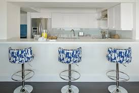 blue bar stools kitchen furniture artistic blue swivel bar stools of white and contemporary kitchen