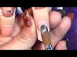 how easy to do acrylic nail at home step by step youtube