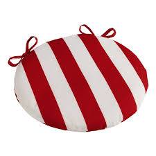 Outdoor Bistro Chair Pads Red Stripe Indoor Outdoor Bistro Chair Cushion Christmas Tree
