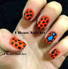 flintstone nails cartoon nailart jpg