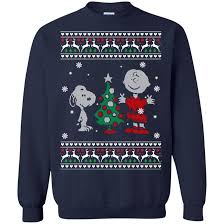 peanuts christmas t shirt christmas sweater snoopy and peanuts christmas shirt