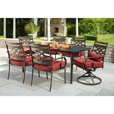 7 Pc Patio Dining Set - hampton bay middletown 7 piece patio dining set with chili with
