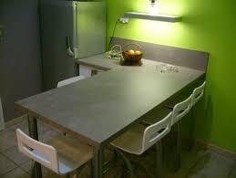 plan de travail pour table de cuisine taille plan de travail cuisine hauteur comptoir cui plan du0027une