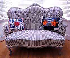 Victorian Loveseats How To Restore And Reupholster A Button Back Sofa For The Home