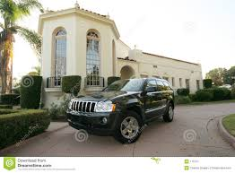 luxury jeep luxury jeep stock image image of ride outside residential 175737