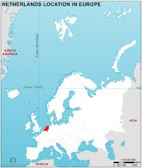 netherlands location in europe map netherlands location map in europe netherlands location in