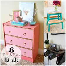 Furniture Hacks Trending Tuesday 6 Fun U0026 Easy Ikea Hacks Creative Juice