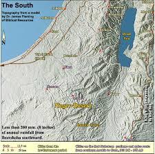 negev desert map the negev desert