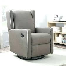 recliner glider chair nursery recliner luna grey nursery swivel
