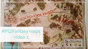 Fantasy Maps How To Draw Fantasy Art And Rpg Maps Add Colors To The Map With