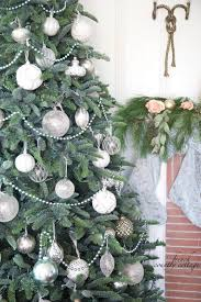 Christmas Tree Decorating Ideas Pictures 2011 French Country Cottage Christmas Home Tour French Country Cottage