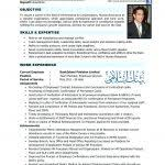 4 Years Experience Resume Resume Hr Resume Sample For 4 Years Experience Professional S