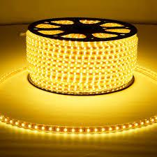 Install Led Light Strip by Aliexpress Com Buy Smd 5050 Ac 220v 6000k Copper Wire Led Strip