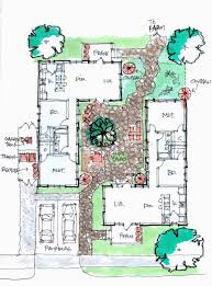 courtyard house plans apartments courtyard plan best courtyard house plans ideas on