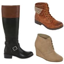 womens boots jcpenney buy 1 pair of boots get 2 free 20 at jcpenneyliving rich