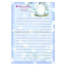 office letter pad design buy letter pad letter pad design