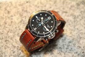 tissot bracelet leather images Fs tissot seastar 1000 chronograph w bracelet rubber and jpg