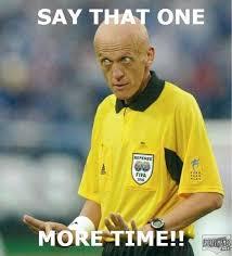 Funny Soccer Meme - soccer ref meme
