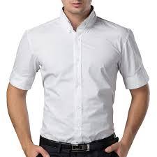 online get cheap men shirt casual short white dress aliexpress