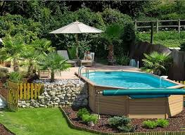 Cost Of Small Pool In Backyard 40 Uniquely Awesome Above Ground Pools With Decks