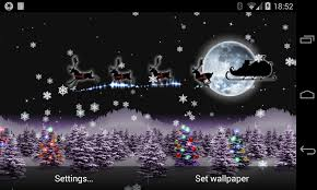 christmas surprise wallpapers christmas live wallpaper santa android apps on google play