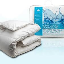 Duvet Vs Down Comforter Canadian Down And Feather White Goose Down Comforter All Season