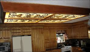 decorative fluorescent light panels kitchen fluorescent light covers wow with regard to stylish