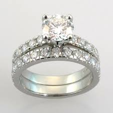 wedding rings sets for his and wedding rings sets bridal engagement wedding