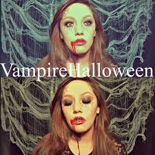 dark vampire makeup bite marks halloween tutorial stefanie